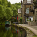 Hebden Bridge canal by blueace
