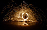 28th Jun 2017 - Steel Wool Light Painting