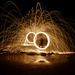 Steel Wool Light Painting by onewing