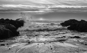 29th Jun 2017 - Yachats Surf for B and W