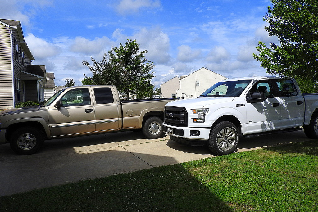 Two truck family! by homeschoolmom