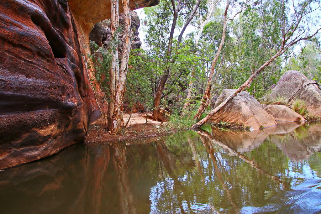 Cobbold Gorge in a Tinnie 1 by terryliv