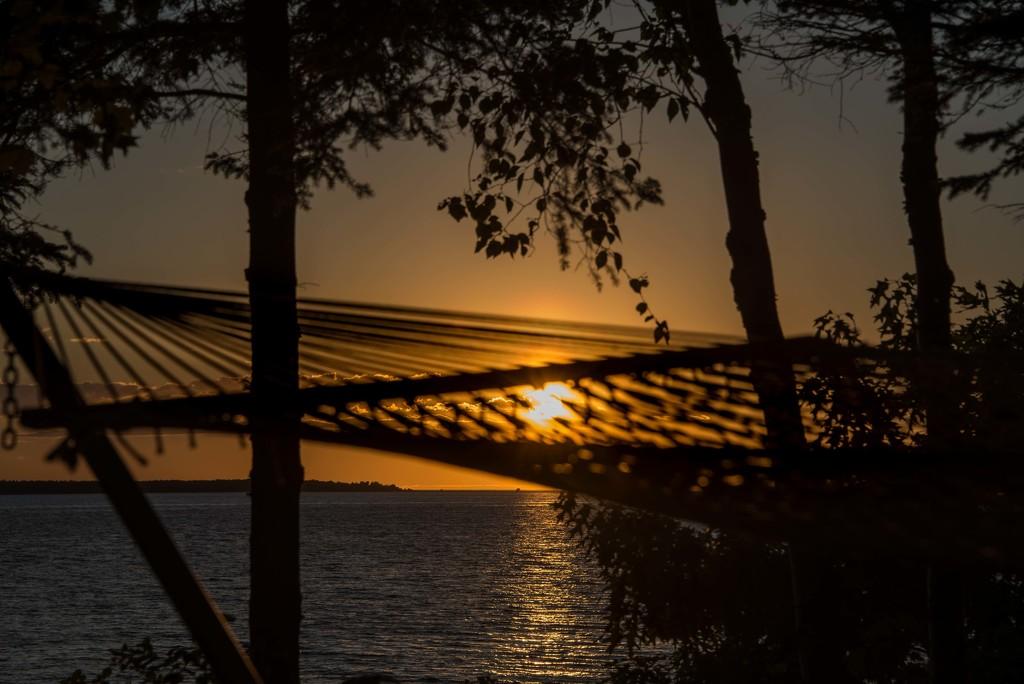 Idyllic Spot to Watch the Sun Set by taffy