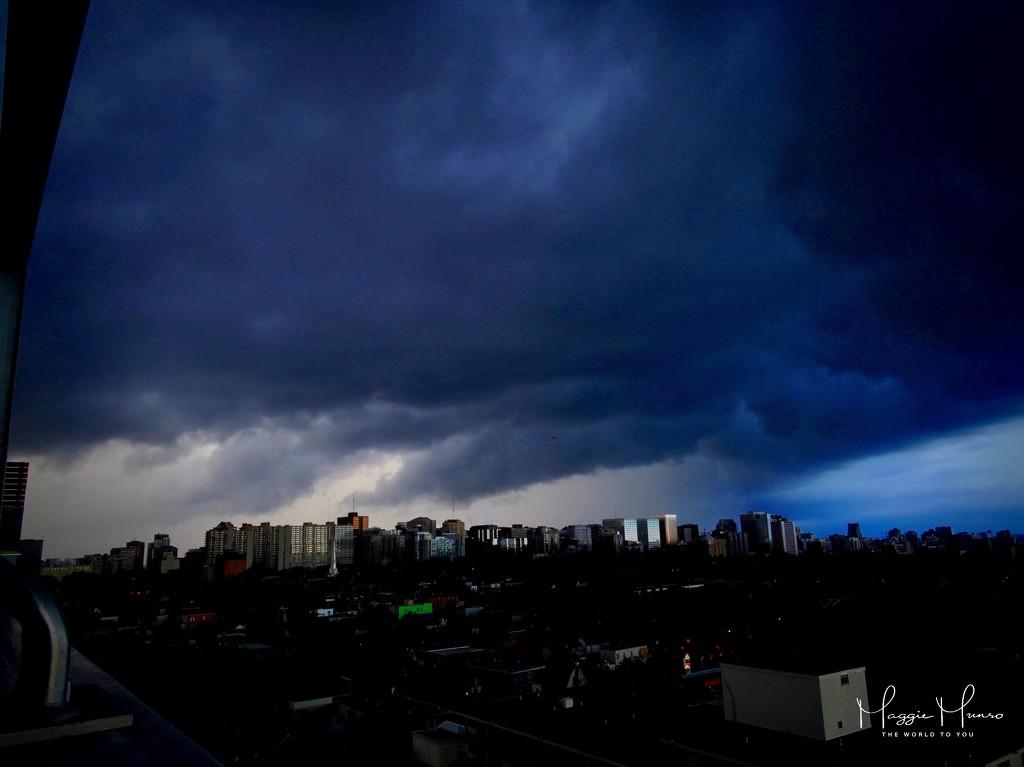 Stormy night by maggiemae