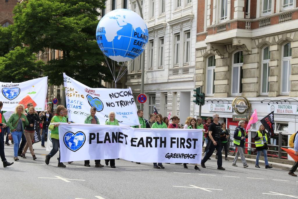G20 Protest Hamburg by leonbuys83