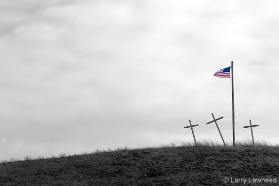 Flag and Crosses by lsquared