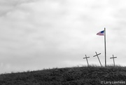 6th Jul 2017 - Flag and Crosses