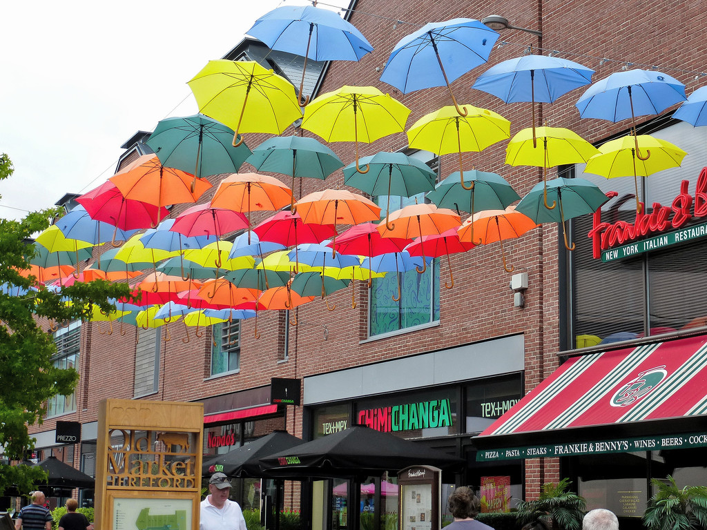 Umbrellas ..... by snowy