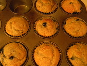 8th Jul 2017 - Seven Blueberry Muffins