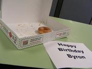 5th Jul 2017 - Birthday Donut