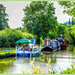 A Summer's Evening By The Canal At Braunston