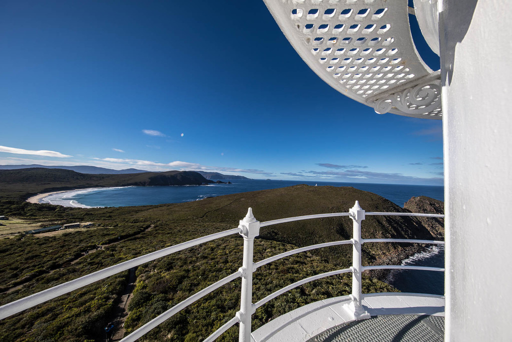 Cape Bruny View from Lighthouse by jyokota