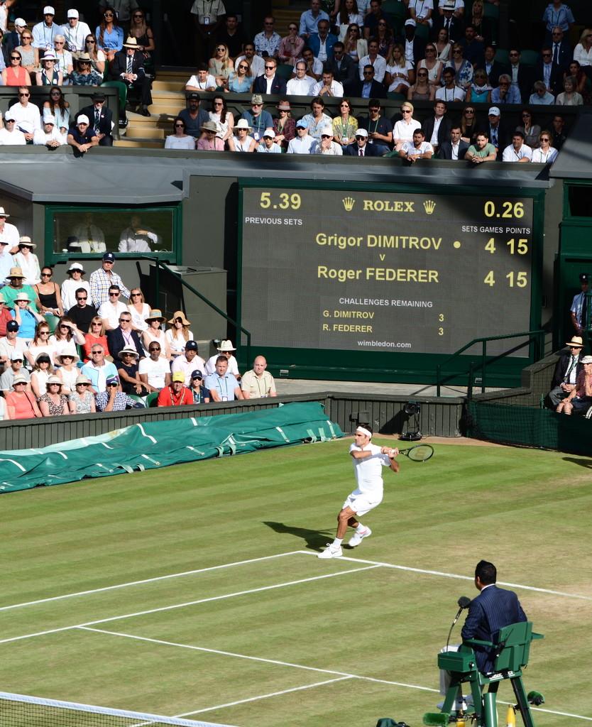 The one and only Federer by rumpelstiltskin