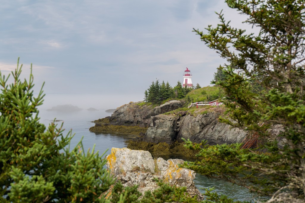 Head Harbour Light, Campbell Island, N.B by berelaxed