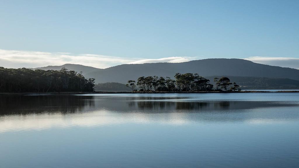 Bruny Island Morning Stillness by jyokota