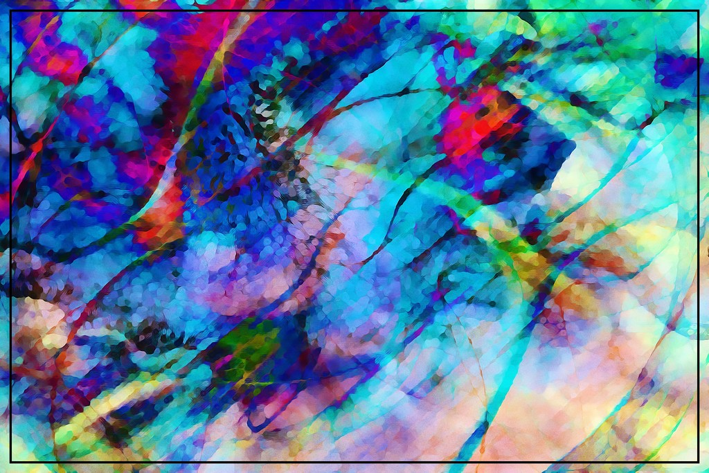 6 Abstracts 1 Reality Day 5 by olivetreeann