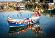 14th Jul 2017 - Boat in Mevagissey harbour