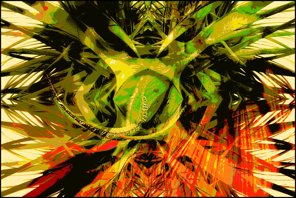 6 Abstracts 1 Reality Day 6 by olivetreeann