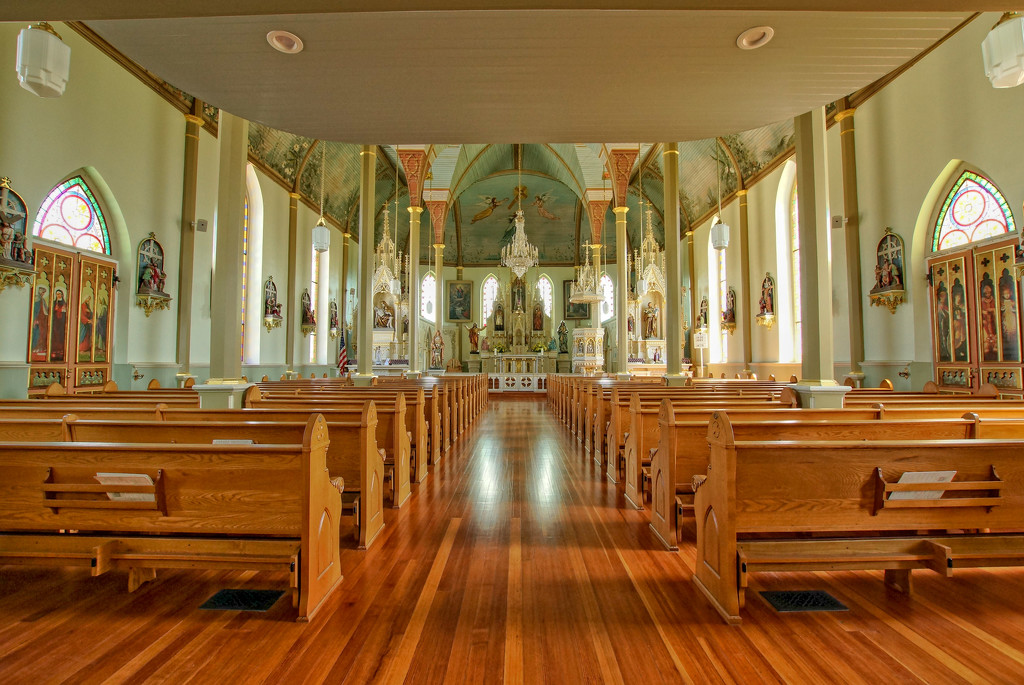 St. Mary's interior by danette