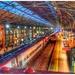 View from the bridge - Preston Railway Station  by lyndamcg