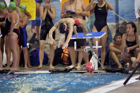 Mile swim relay by kiwichick