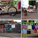 Arnold Town Centre , Decorated For Gedling Arts Week