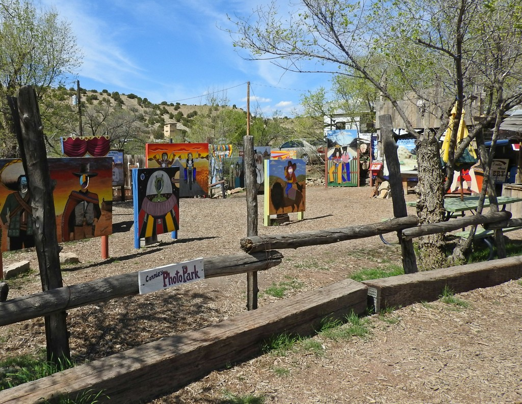 Connie's Photo Park, Madrid, New Mexico, USA by janeandcharlie