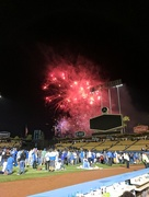 23rd Jun 2017 - Fireworks after a Dodger game