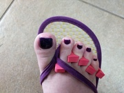9th Jun 2017 - My toes getting ready for vacation