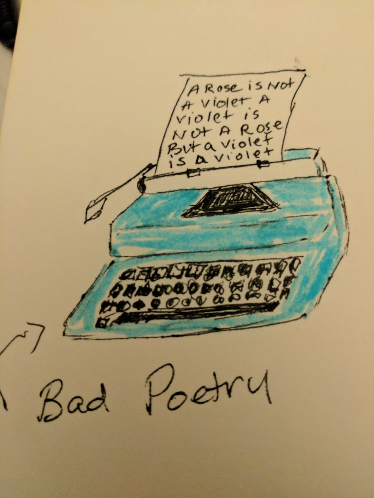 Things I hate - bad poetry by bambilee