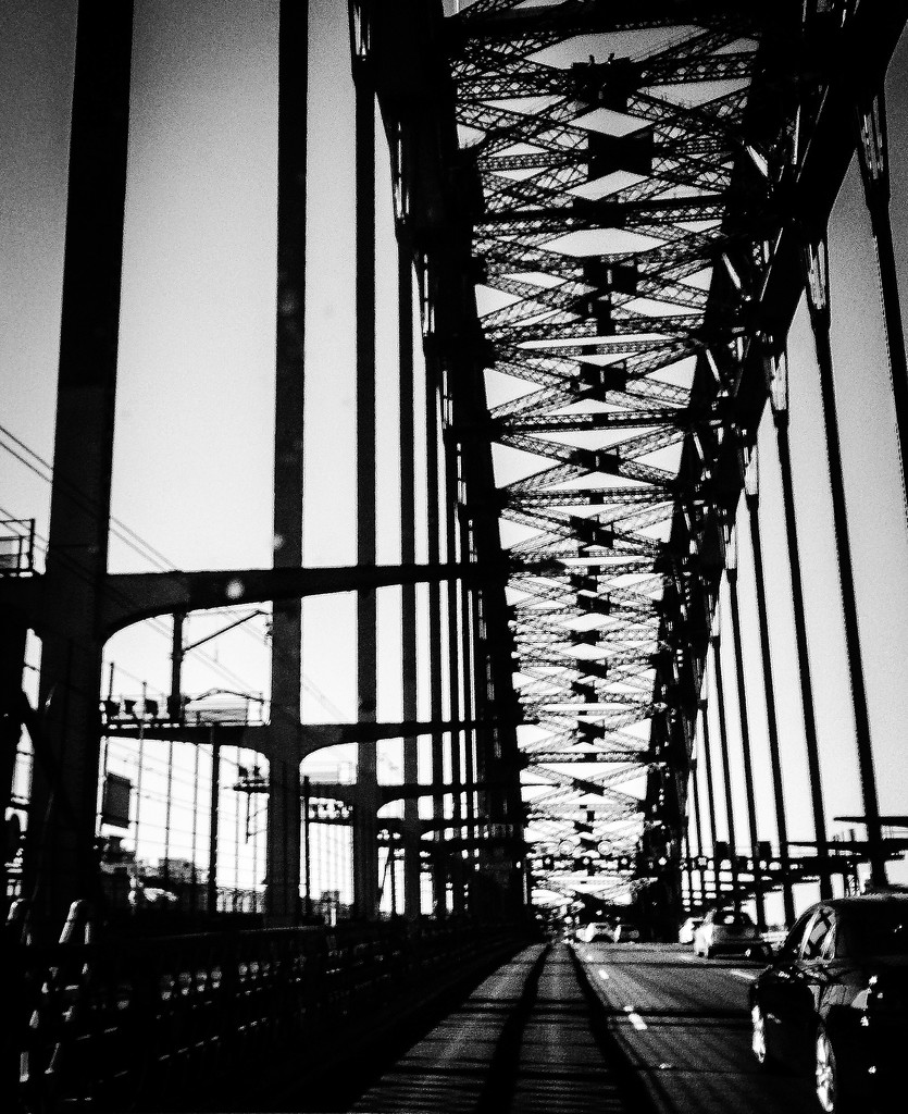 Over the bridge  by abhijit