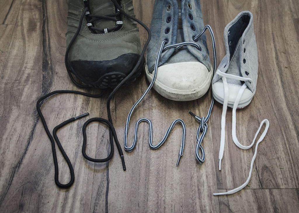 Family in Laces by salza