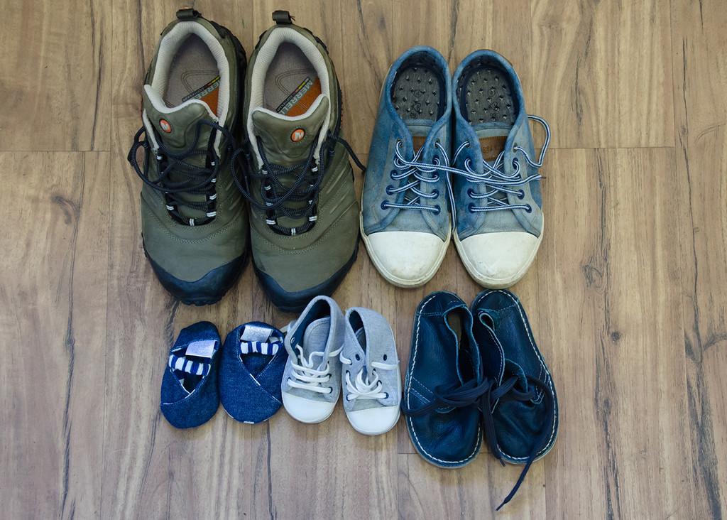 A Shoe Family by salza