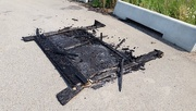 20th Jul 2017 - Burned Bed
