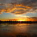 Sunset on Mutton Hole Wetlands by terryliv