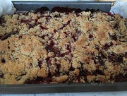 31st Jul 2017 - Tray Bake - Plum Cake