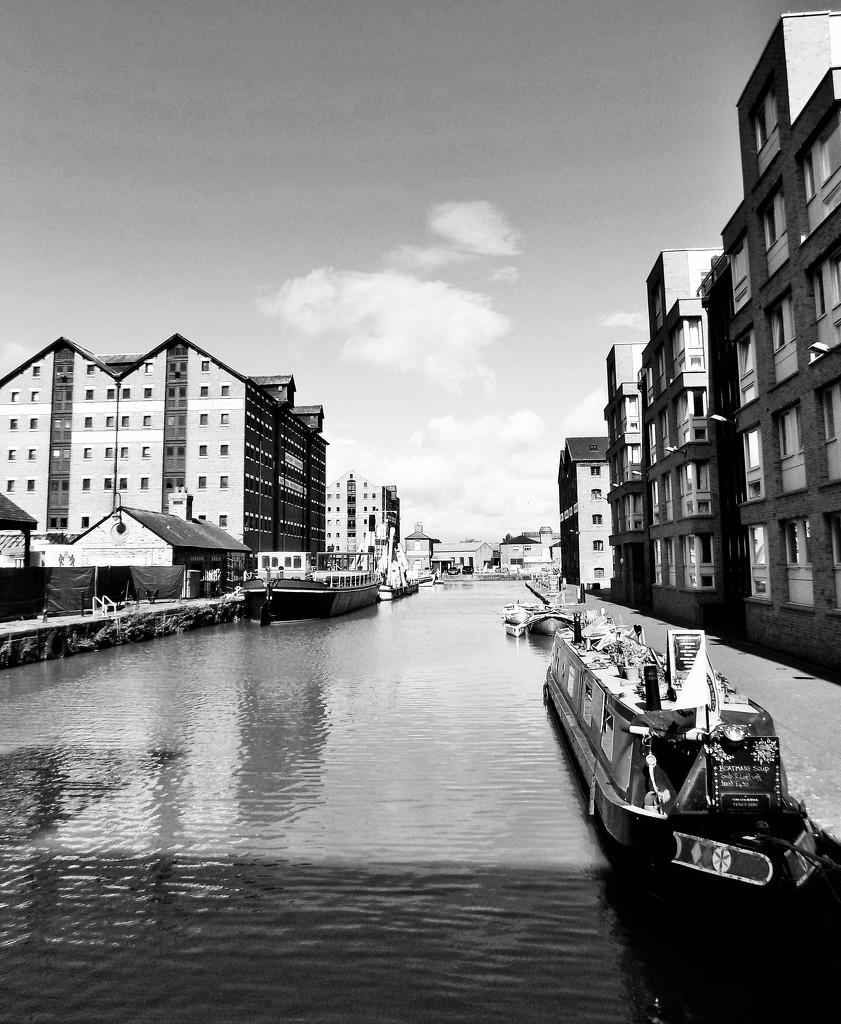 Barge Arm, Gloucester Docks by flowerfairyann