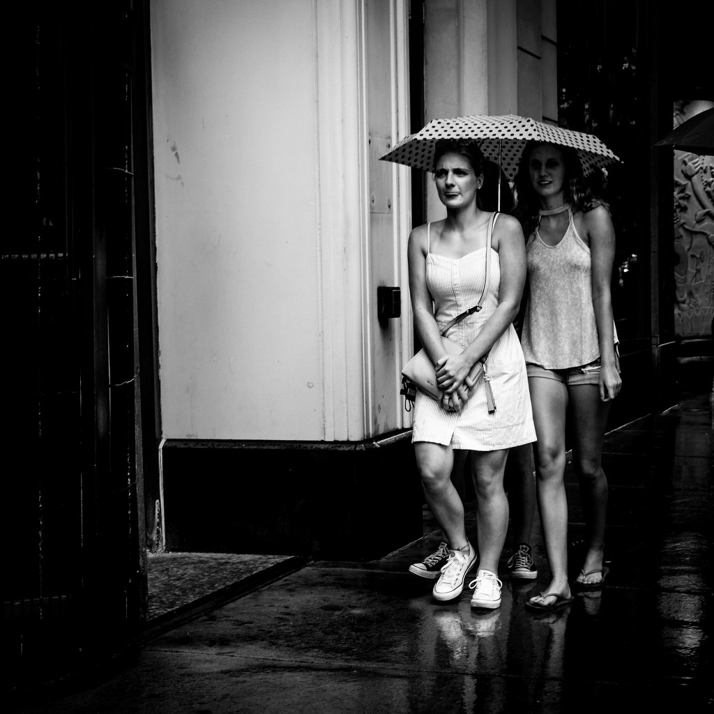 Caught in the Rain! by ukandie1