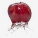 Splashy Apple by rosiekerr