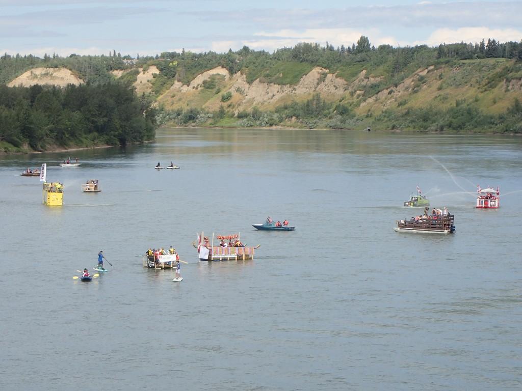 Sourdough Raft Race by schmidt