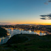 Setting sun over St. John's, NL by novab