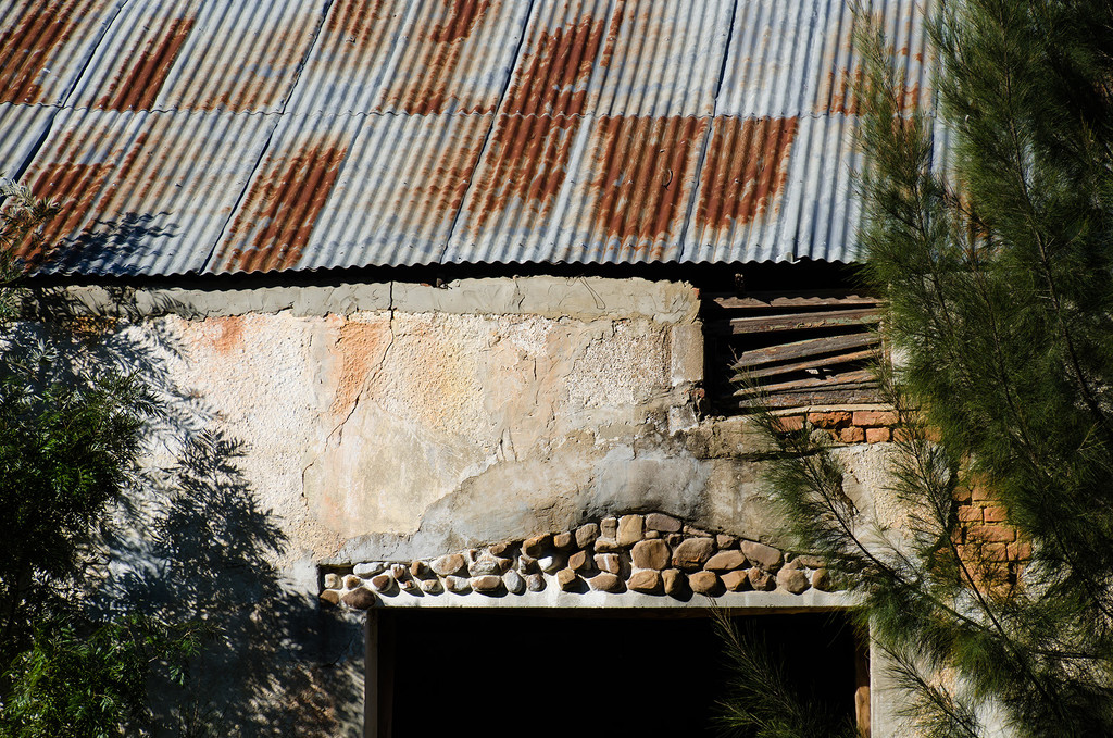 Detail on an Old Barn by salza