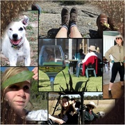 4th Aug 2017 - Snapshot of fun on the farm.