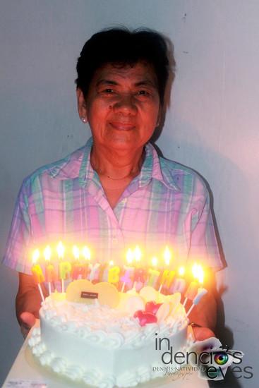 Nanay's Birthday by iamdencio