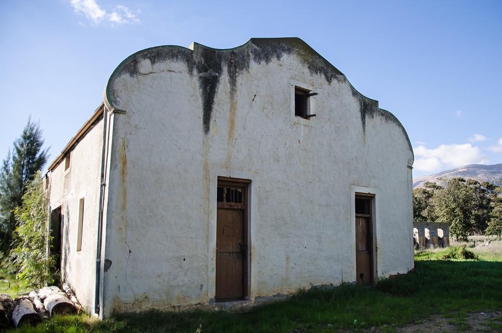 The Gable on an Old Barn by salza