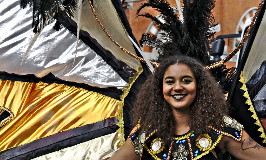 Leicester Caribbean Carnival Smile  by phil_howcroft