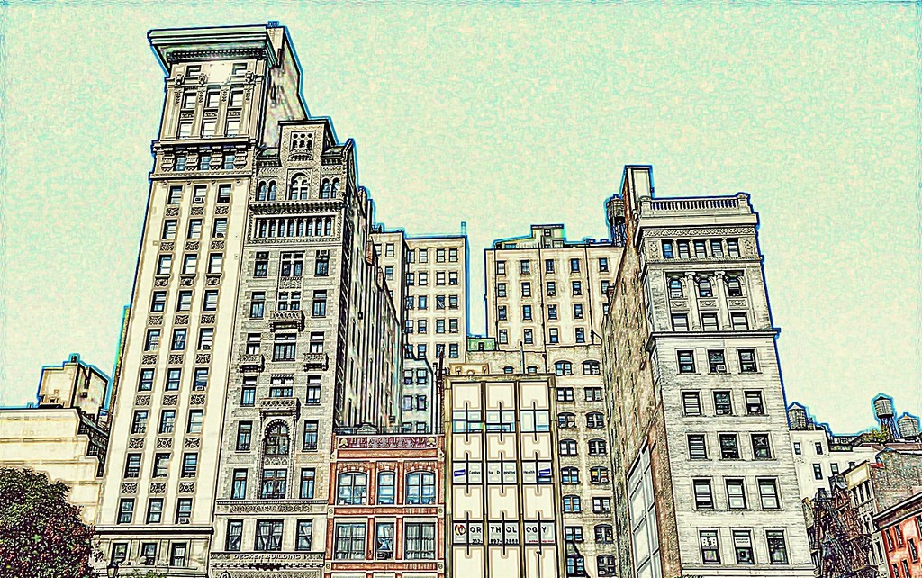 Union Square Architecture by soboy5