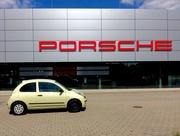 7th Aug 2017 - Contrasted Porsche