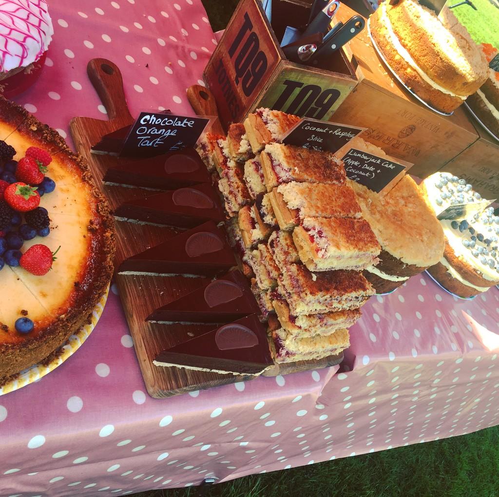 Cake Display by cookingkaren