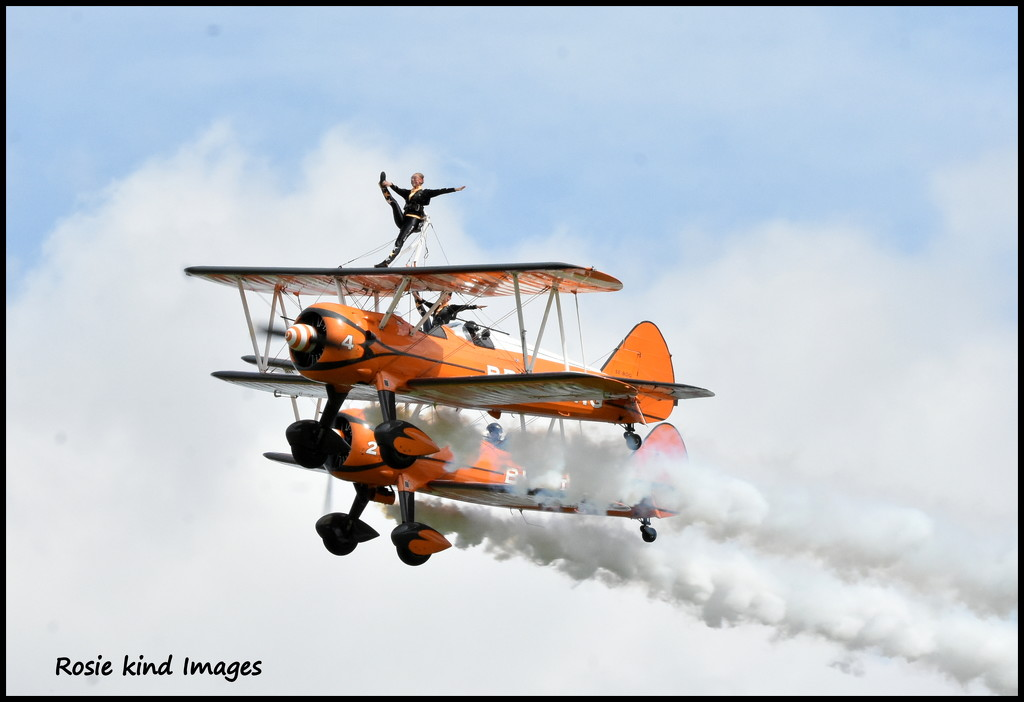 What a team - the Breitling Wing Walkers by rosiekind